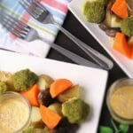 4種の蒸し野菜と白味噌わさびマヨディップ【簡単写真付きレシピ・作り方】